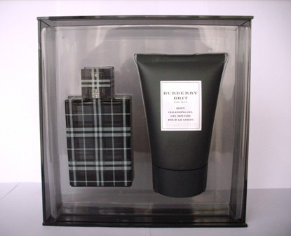 BURBERRY BRIT EDT 50ml + GEL DE BAÃ'O 100ml